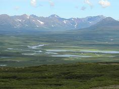 Denali highway, Alaska, landscape, PleinAirEnVR
