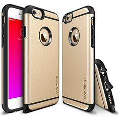 iPhone 6S / 6 Case - Ringke MAX [Free HD Film / Heavy Duty Wear & Tear Resistant][ROYAL GOLD] Dual Layer Strength Resistant Slim Armor Max Protective Hard Case for Apple iPhone 6S (2015) / 6 (2014) Ringke http://www.amazon.com/dp/B010QYKLKI/ref=cm_sw_r_pi_dp_MfQjwb1XGB3ZT