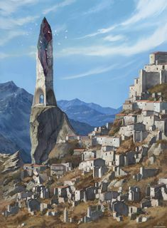 In the shadow of Elven Ruins Fantasy City, Fantasy Castle, Fantasy Map, Fantasy Places, High Fantasy, Fantasy Artwork, Fantasy World, Fantasy Art Landscapes, Fantasy Landscape