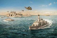 Hms Ocean & HMS Marlborough