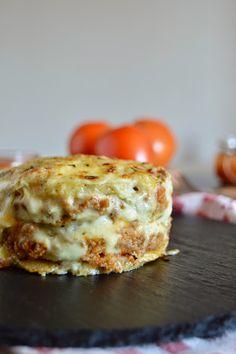Lasaña de patata y carne con bechamel de curry | Cocinar en casa es facilisimo.com