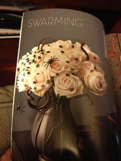 Halloween floral design by Martha Stewart