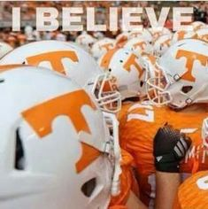 I Believe in Tennessee Vols!! Check this out too ~ RollTideWarEagle.com sports stories that inform and entertain. Plus Train Deck FREE online football tutorial to learn the rules of the game you love, #Collegefootball #Vols #UT