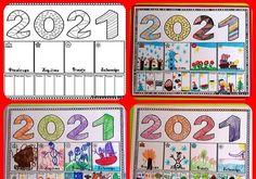 Σε συνέχεια της ανάρτησης:  Το ημερολόγιο του 2021 - Οι 12 μήνες και οι 4 εποχές Και επειδή μου το έχετε ζητήσει, ανεβάζω το φύλλο που ετ... Advent Calendar, Notebook, Holiday Decor, Advent Calenders, The Notebook, Exercise Book, Notebooks