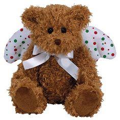 TY Beanie Baby - JOYFUL the Angel Bear (6.5 inch)