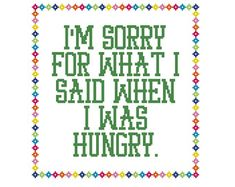 Funny Cross Stitch Pattern Counted Cross by CowbellCrossStitch                                                                                                                                                                                 More