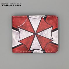 4.73$  Buy here - http://alid3e.shopchina.info/go.php?t=32659007338 - Movie Resident Evil Logo Wallets Men Purse Multi-Color short wallet with ID Card Holder Leather carteira masculina marca famosa 4.73$ #buymethat