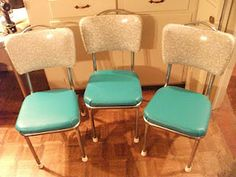 chrome dinette chairs