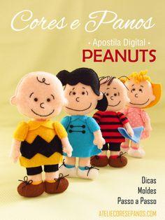 Apostila Digital - Peanuts em Feltro
