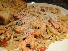 Shrimp Scampi <3  one of my favorite dinners to make lately...