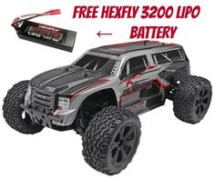 Redcat Blackout XTE PRO 1/10 Brushless Electric RC Truck With Free Extra Battery #RedcatRacing