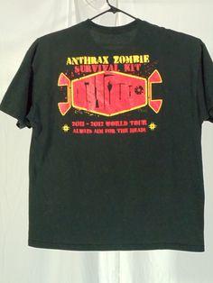 Anthrax - 2010 - Worship Music tour 02