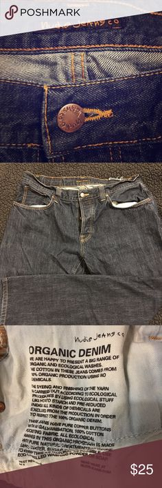 Nudie Relaxed Jeans Nudie Jeans. Relaxed fit. Great condition. Inseam is 32 Nudie Jeans Jeans Relaxed