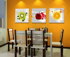Beau Modern Kitchen Wall Decor Fruit Kitchen Decor, Modern Kitchen Wall Decor, Kitchen  Wall Art