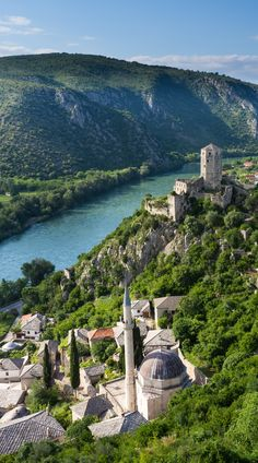 24 Hours in Bosnia and Herzegovina - The Road Les Traveled Places In Europe, Places To Travel, Rwanda Travel, Les Balkans, City Aesthetic, Road Trip, Voyage Europe, Romantic Destinations, Photos Voyages