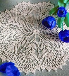 Pretty and Easy Crochet Doily for Beginners (11)