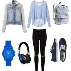 Untitled #2 by alena1996k on Polyvore featuring polyvore fashion style Victoria's Secret Miss Selfridge Vans Vince Camuto