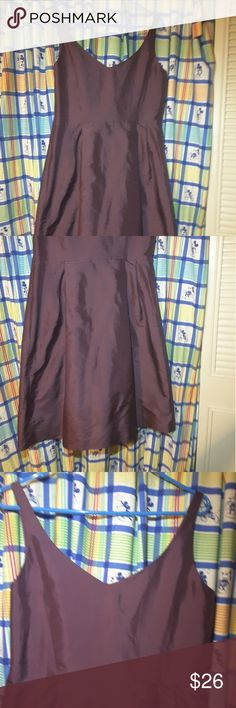 Violet Classy Evening Dress Never been worn, has pockets on both sides, zipper to the side, very fresh material super elegant Ann Taylor Dresses Wedding