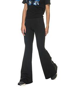 49925453a3161 La Dolls Womens Womens Monocolor Black Pants in Size M Black     Check this