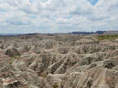 This is a picture of Badlands National Park! I took this picture myself.