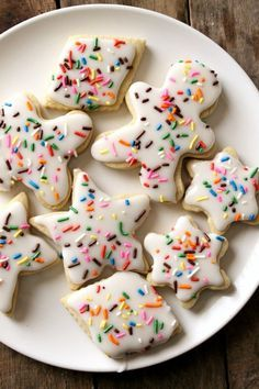 Gluten Free Cut-Out Sugar Cookies | These are the BEST