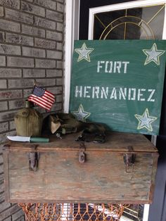 {SHE} Shayla Hawkins Events www.shaylahawkinsevents.com  Military Party decor