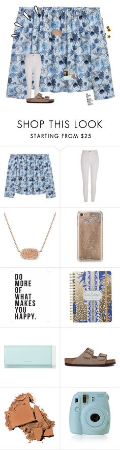 """""""•nyc day 5?!?!•"""" by mackenzielacy814 on Polyvore featuring H&M, River Island, Kendra Scott, Agent 18, Native State, Lilly Pulitzer, Paul Smith, Birkenstock, Bobbi Brown Cosmetics and Fujifilm"""