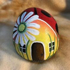 #ladybug #painted rock                                                                                                                                                                                 More