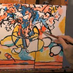 Angus Wilson Painting Demo | Time-Lapse | Ann Korologos Gallery