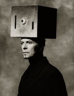 David Bowie, NYC 1996. Photo by Albert Watson.