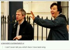I think Benedict's. Martin has no idea what's going on...
