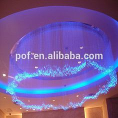 China led chandelier fiber optic lighting rgb led fiber optic chandelier