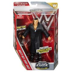 Wwe Elite Collection Nasty Boys Jerry Sags Action Figure - Series #42