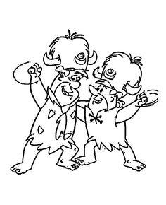 Flintstones Tegninger til Farvelægning 38