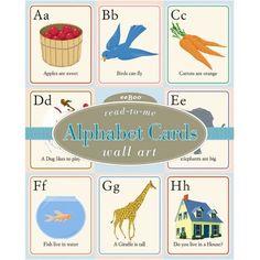 Read-to-Me Alphabet Wall Cards by eeBoo eeBoo https://www.amazon.com/dp/B0008236CY/ref=cm_sw_r_pi_dp_x_nPXOybQ5PEGDZ