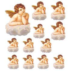 Vintage angel scrap