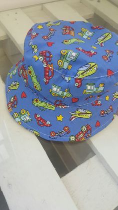 Cars wide-brimmed sunhat