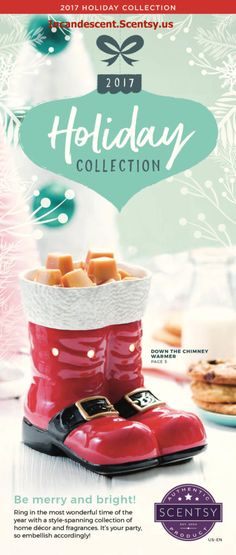 SCENTSY HOLIDAY CHRISTMAS 2017 PREVIEW | Scentsy® Buy Online | Scentsy Warmers and Scents | Incandescent.Scentsy.us