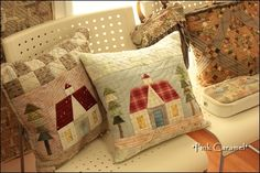Patchwork *Pink Caramel*: pillows