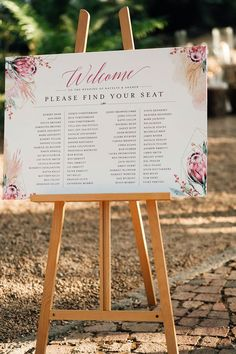 If you're all about making a stylish statement on your big day then we highly recommend large format signage like this trendy seating plan. Complete with lush blooms and a beautiful layout, your guests will be directed to their seats in style! No matter your design request, we can do it!  Wedding Coordinator: @ido4u Photographer: @pritti_migneonmarais #seatingplan #seatingideas #weddingideas #wedding #weddingstationery #weddinginspo Making Wedding Invitations, Wedding Stationery, Finding Yourself, Make It Yourself, We Can Do It, Large Format, Wedding Coordinator, Save The Date Cards, Big Day