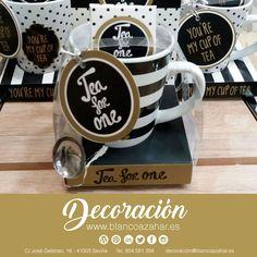 Un #té con #estilo siempre es posible con las #tazas de #BlancoAzahar #Decoración. ☕️