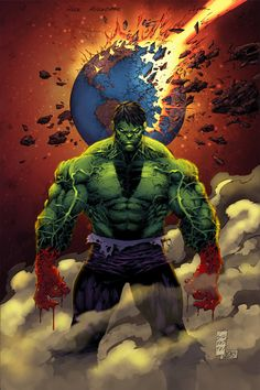 #Hulk #Fan #Art. (Hulk Asunder - Colors) By: RevvyWasHere. ÅWESOMENESS!!!™ ÅÅÅ+