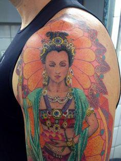 quan yin tattoo images - Google Search