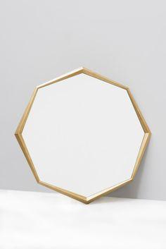 Okulus Mirror (ash wood) Sparkx Collection by Jean-Louis Deniot for Marc de Berny (www.marcdeberny.com)