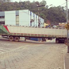 Rio Piracicaba-MG um, caminhão zero.