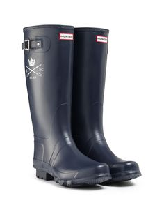 Oxford University Boat Club Hunter boots for The BNY Mellon Boat Race on Sunday 31st March.