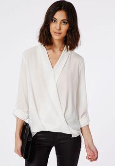 Blusa manga larga-blanco 12.87