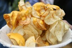 Classic chips with cheese at The Big E.