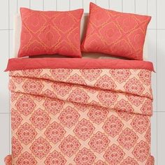 Our Adria Porcelain Rose Queen Quilt Bundle (Quilt and 2 Standard Shams) - Primitive Star Quilt Shop is a soft feminine design that will transform any bedroom. https://www.primitivestarquiltshop.com/collections/adria-porcelain-rose-bedding #primitivecountrybedroomsbeddingandaccessories