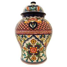 From the renowned studio of Maximo Huerta, these pieces represent the finest in authentic Talavera.  Hand-thrown from the rich soils of Puebla, then fired and finished in a classic blend of precision and artistry, each design is a beautiful work of art.